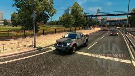 Ford F-150 SVT Raptor for Euro Truck Simulator 2