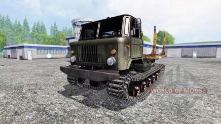GAZ-66 [crawler] for Farming Simulator 2015
