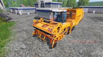 Grimme Tectron 415 [orange edition] for Farming Simulator 2015