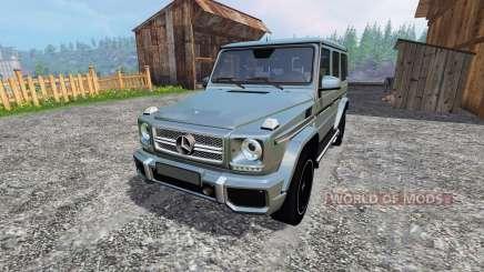 Mercedes-Benz G65 AMG for Farming Simulator 2015