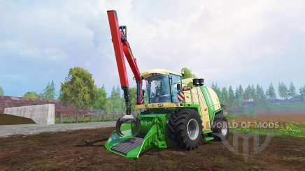 Krone Big X 1100 [crusher] v2.0 for Farming Simulator 2015