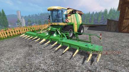 Krone Big X 1100 [inluding cutters] for Farming Simulator 2015