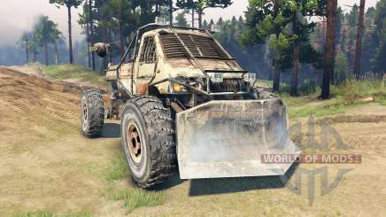 Machine from Metro 2033 for Spin Tires