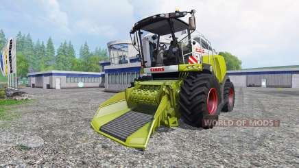 CLAAS Jaguar 980 [forest] for Farming Simulator 2015
