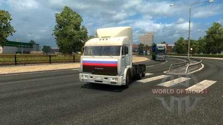"KamAZ 54115 series of ""Truckers"" for Euro Truck Simulator 2"