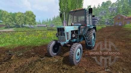 MTZ-80 [blue] v2.0 for Farming Simulator 2015