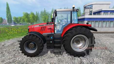 Massey Ferguson 7626 v1.5 for Farming Simulator 2015
