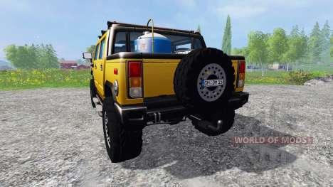Hummer H2 for Farming Simulator 2015