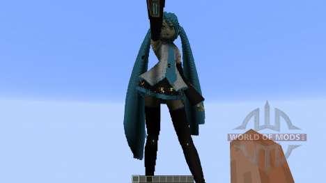 Hatsune Miku for Minecraft