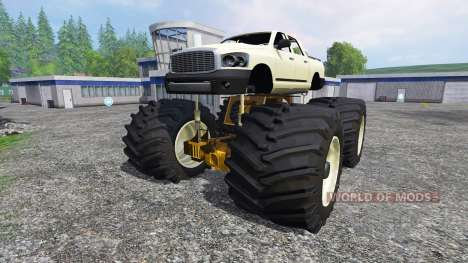 PickUp Monster Truck [super diesel] for Farming Simulator 2015