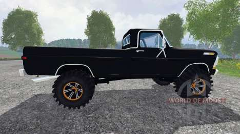 Ford F-250 Highboy 1972 for Farming Simulator 2015