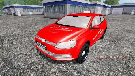 Volkswagen Polo GTI for Farming Simulator 2015