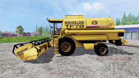 New Holland TF78 v1.15 for Farming Simulator 2015
