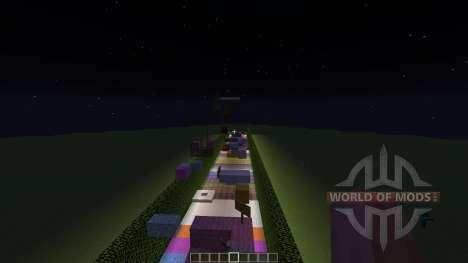 Rainbow Parkour for Minecraft