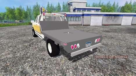 Ford F-150 [flatbed] for Farming Simulator 2015