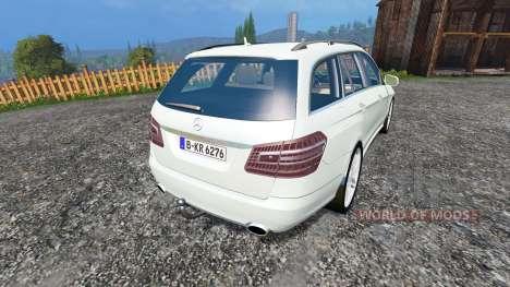 Mercedes-Benz E350 CDI Estate v1.1 for Farming Simulator 2015