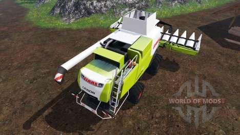 CLAAS Lexion 750 v1.4 for Farming Simulator 2015