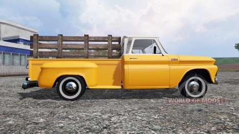 Chevrolet C10 Fleetside 1966 v1.3 for Farming Simulator 2015