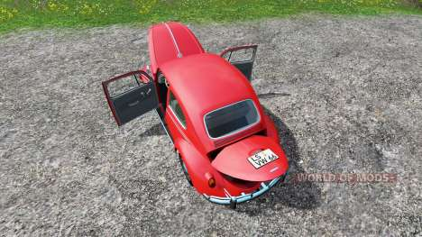 Volkswagen Beetle 1966 for Farming Simulator 2015