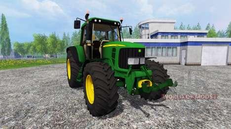 John Deere 6620 v0.8 for Farming Simulator 2015