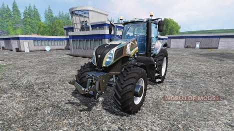 New Holland T8.435 [camo] for Farming Simulator 2015