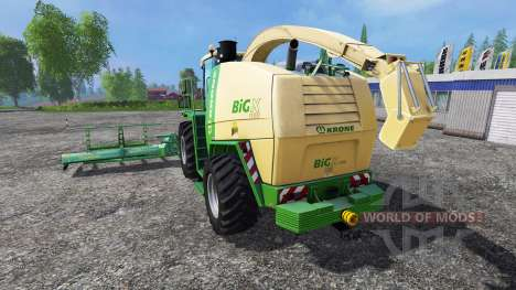 Krone Big X 1100 [horsch titan] for Farming Simulator 2015
