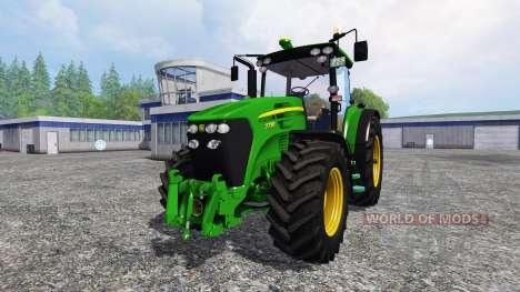 John Deere 7730 [new gear] for Farming Simulator 2015