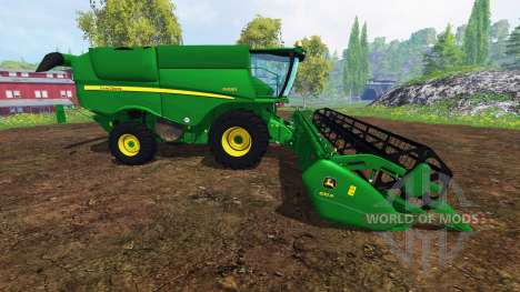 John Deere S 690i v2.0 for Farming Simulator 2015