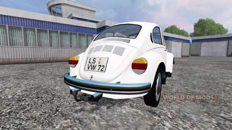 Volkswagen Beetle 1973 v1.1 for Farming Simulator 2015