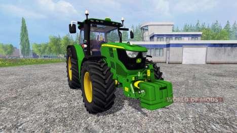 John Deere 6170R v2.3 for Farming Simulator 2015