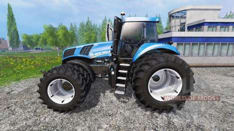 New Holland T8.435 DuelWheel v4.0.1 for Farming Simulator 2015