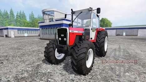 Massey Ferguson 698T [front loader] for Farming Simulator 2015