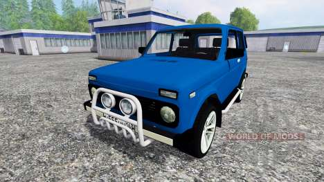 VAZ-2121 Niva for Farming Simulator 2015