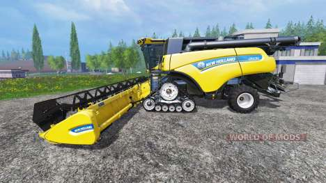 New Holland CR10.90 v1.0.1 for Farming Simulator 2015