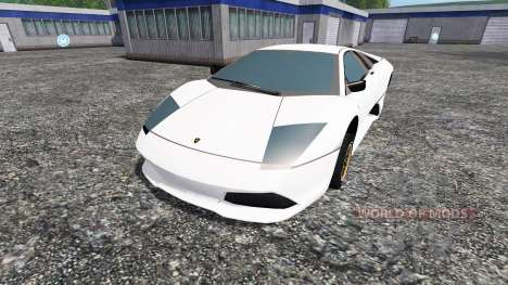 Lamborghini Murcielago LP640 [beta] for Farming Simulator 2015
