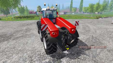 Fendt TriSix Vario v3.0 [red edition] for Farming Simulator 2015