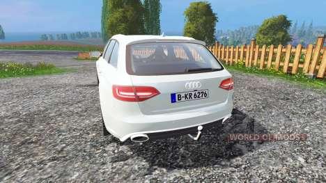 Audi RS4 Avant v1.1 for Farming Simulator 2015