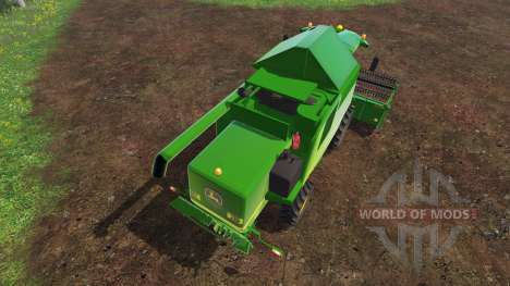John Deere W540 v2.0 for Farming Simulator 2015