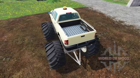 PickUp Monster Truck v1.0 for Farming Simulator 2015