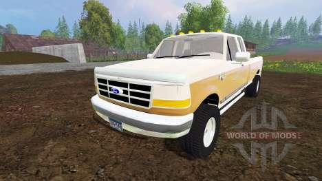 Ford F-150 XL 1992 v1.1 for Farming Simulator 2015