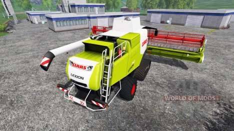 CLAAS Lexion 750TT v1.2 for Farming Simulator 2015