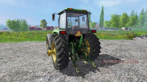 John Deere 4755 for Farming Simulator 2015