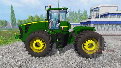 John Deere 9630 v2.0 [selectable wheels] for Farming Simulator 2015