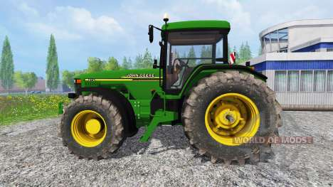 John Deere 8110 v2.0 for Farming Simulator 2015