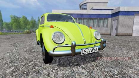 Volkswagen Beetle 1966 v1.1 for Farming Simulator 2015
