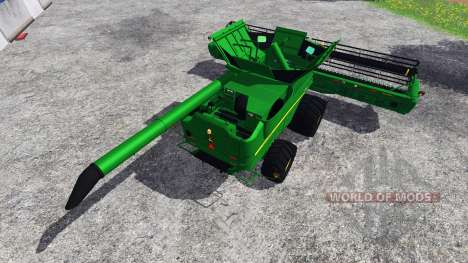 John Deere S680 [TerraTire] for Farming Simulator 2015