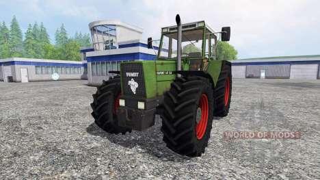 Fendt Favorit 611 LSA v2.1 for Farming Simulator 2015