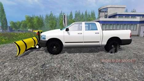 Dodge Pickup [snowplow] for Farming Simulator 2015