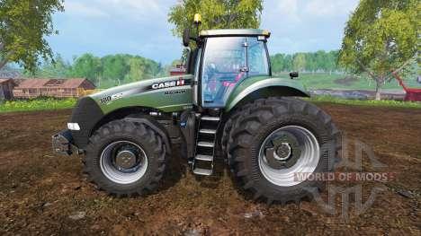 Case IH Magnum CVX 380 [forest] v0.0.2 for Farming Simulator 2015