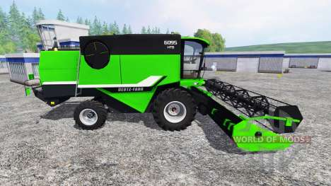 Deutz-Fahr 6095 HTS v2.0 for Farming Simulator 2015